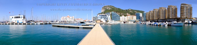 OCEAN VILLAGE IN GIBRALTAR PANORAMIC