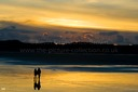 ROMANTIC COUPLE TENBY BEACH