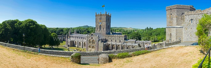 ST. DAVIDS CATHEDRAL WALES UK